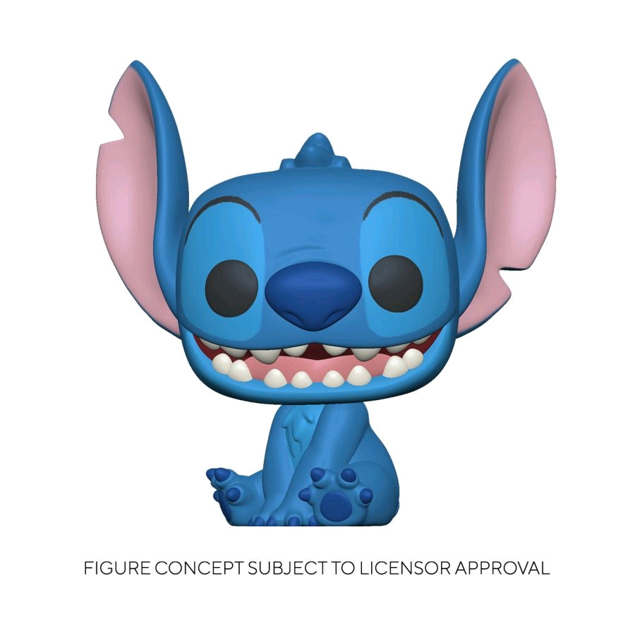 Lilo and Stitch - Stitch Smiling Seated Pop! Vinyl Preorder