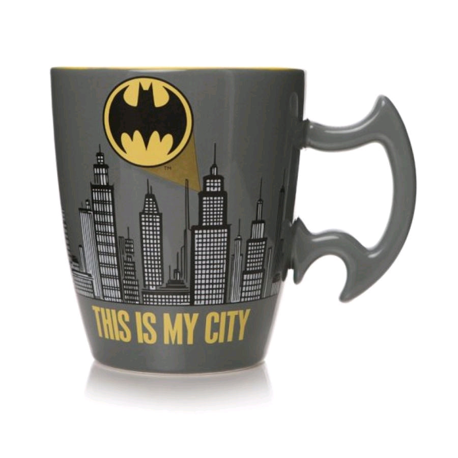 Batman - City Scene Shaped Mug Preorder
