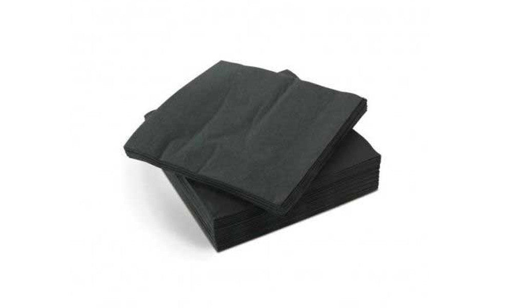 Black cocktails napkins - Free with every order
