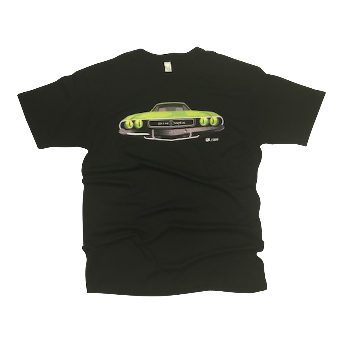 Dinowax Limited Edition, Signature Series Ultra Cotton T-Shirt w/ Custom Logo