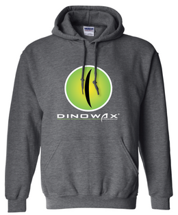 Dinowax Charcoal 3 Color Pullover Hoodie