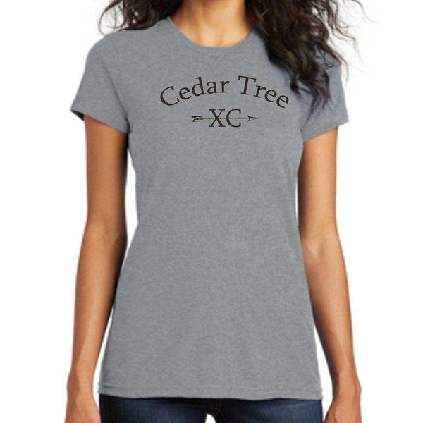 Cedar Tree Cross Country District Womens Fitted Concert Tee DT5001