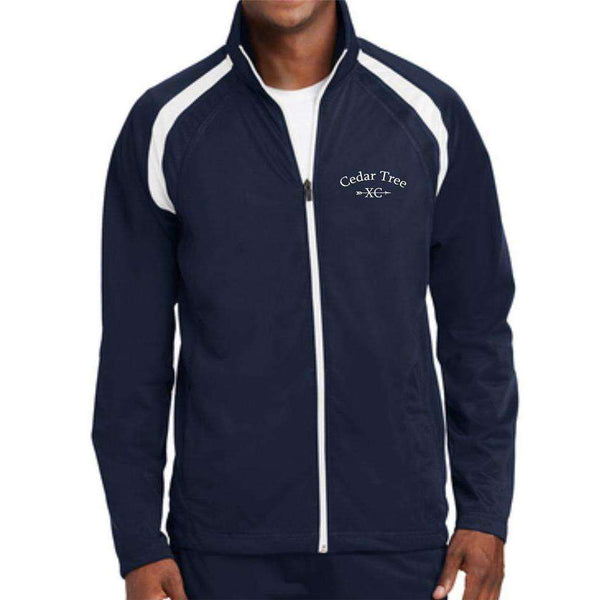 Cedar Tree Cross Country Sport-Tek Tricot Track Jacket JST90