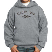 Cedar Tree Cross Country Port & Company Youth Core Pullover Hoodie (PC90YH)