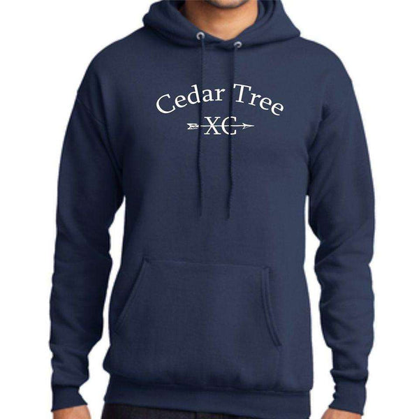 Cedar Tree Cross Country Port & Company Core Fleece Pullover Hoodie PC78H