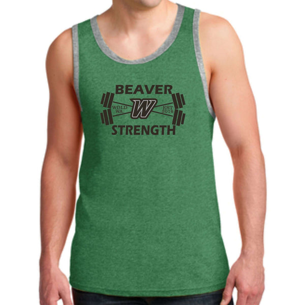 Beaver Strength Anvil® 100% Combed Ring Spun Cotton Tank Top