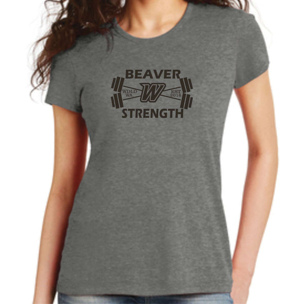 Beaver Strength Alternative Women's The Keepsake Vintage 50/50 Tee