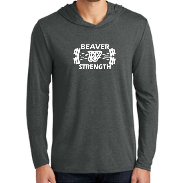 Beaver Strength District ® Perfect Tri ® Long Sleeve Hoodie