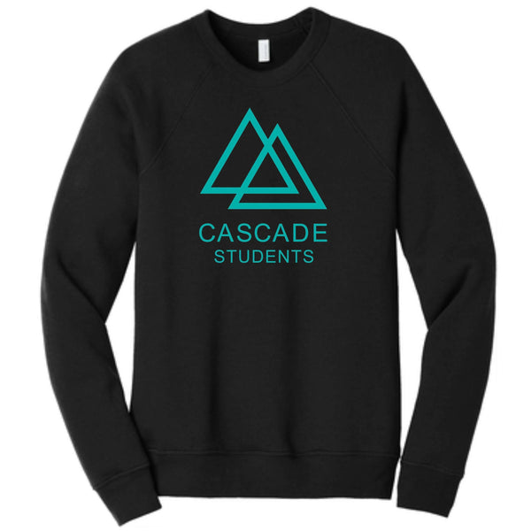 Cascade Students BC3901 BELLA+CANVAS ® Unisex Sponge Fleece Raglan Sweatshirt