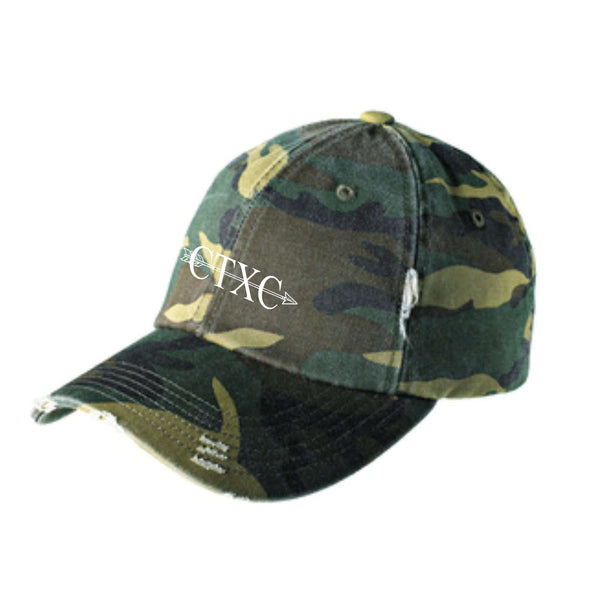Cedar Tree Cross Country DT600 District ® Distressed Cap