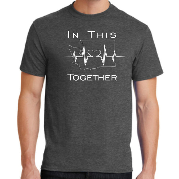"Covid-19 Fundraiser ""In This Together"" PC55  Port & Company® Core Blend Tee"