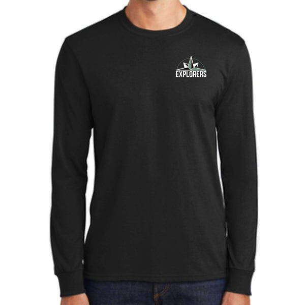 Vancouver Flex Academy Explorers Pocket Print PC55LS Port & Company® - Long Sleeve Core Blend Tee