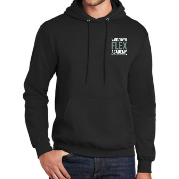 Vancouver Flex Academy Black PC78H Port & Company® - Core Fleece Pullover Hooded Sweatshirt