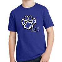 LaCenter Elementary 5370 Hanes® - Youth EcoSmart® 50/50 Cotton/Poly T-Shirt