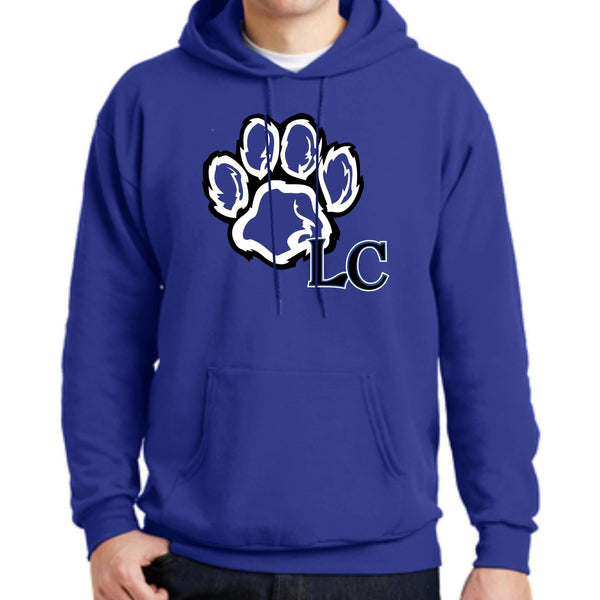La Center Elementary P170 Hanes® EcoSmart® - Pullover Hooded Sweatshirt