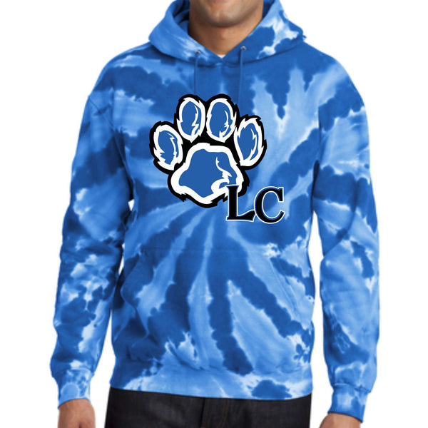 La Center Elementary PC146 Port & Company® Tie-Dye Pullover Hooded Sweatshirt
