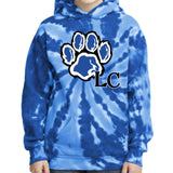 LaCenter Elementary PC146Y Port & Company® Youth Tie-Dye Pullover Hooded Sweatshirt