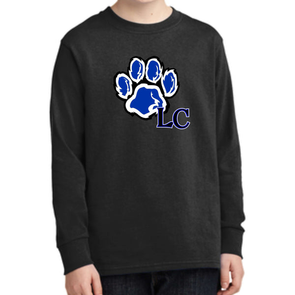 La Center Elementary PC54YLS Port & Company® Youth Long Sleeve Core Cotton Tee