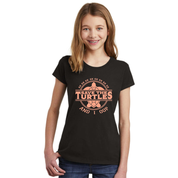 Save The Turtles VCSO Girls Screen Printed Shirt