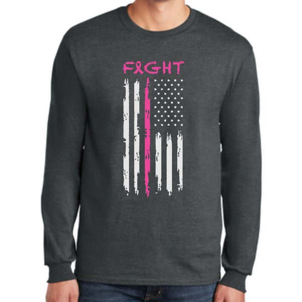 SlapShot USA PC55LS  Port & Company® Long Sleeve Core Blend Tee