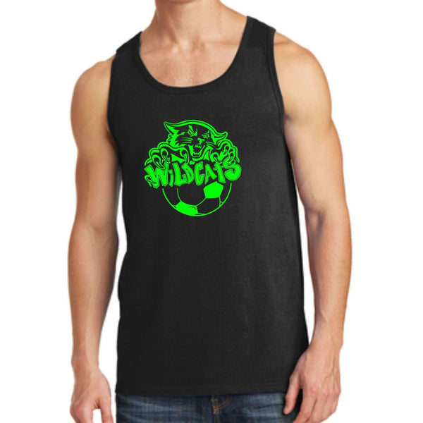 Wildcats Soccer Port & Company Core Cotton Tank Top