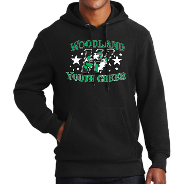 Woodland Youth Cheer Stars F281 Sport-Tek® Super Heavyweight Pullover Hooded Sweatshirt