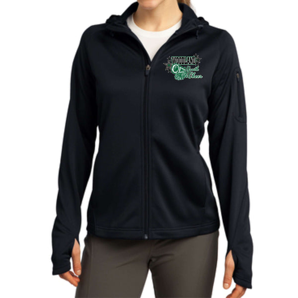 Woodland Youth Cheer Megaphone L248 Sport-Tek® Ladies Tech Fleece Full-Zip Hooded Jacket