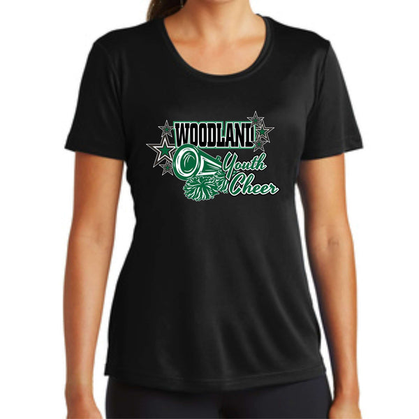 Woodland Youth Cheer Megaphone LST350 Sport-Tek® Ladies PosiCharge® Competitor™ Tee
