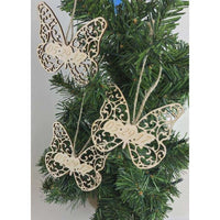 Butterfly Christmas Ornament