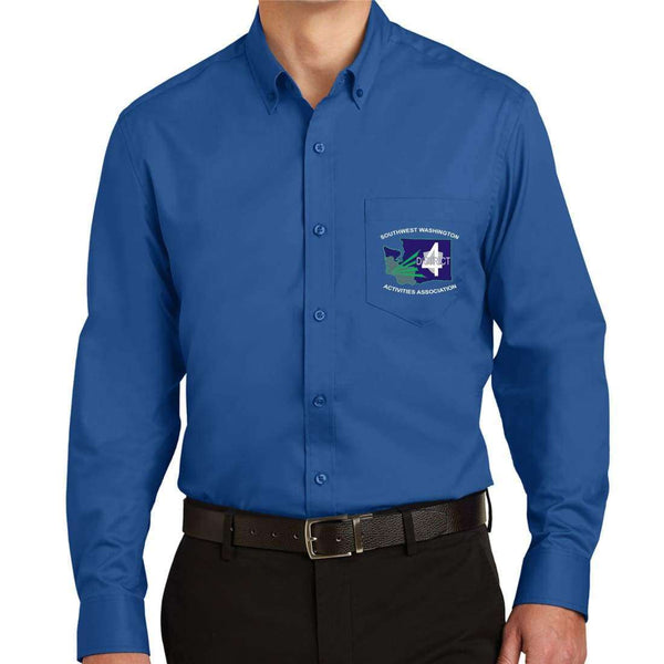 District 4 Port Authority SuperPro Twill Shirt