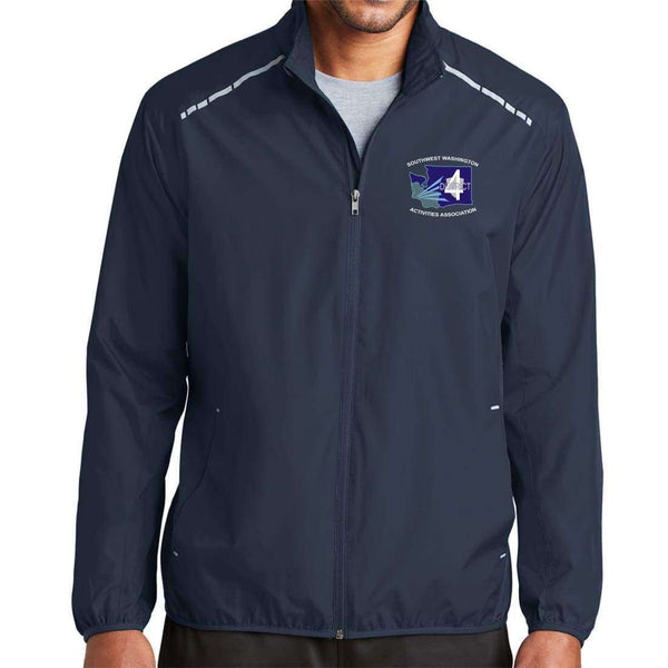 District 4 Port Authority Zephyr Reflective Hit Full-Zip Jacket