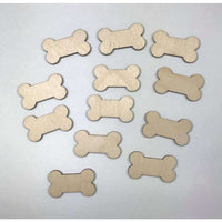 Dog Bone Wooden Cutouts