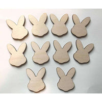 Easter Bunny Wood Cutouts