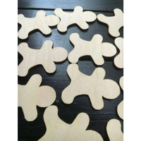 Gingerbread men Wood cutouts