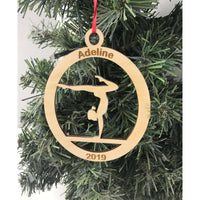 Engraved Gymnastic Ornament