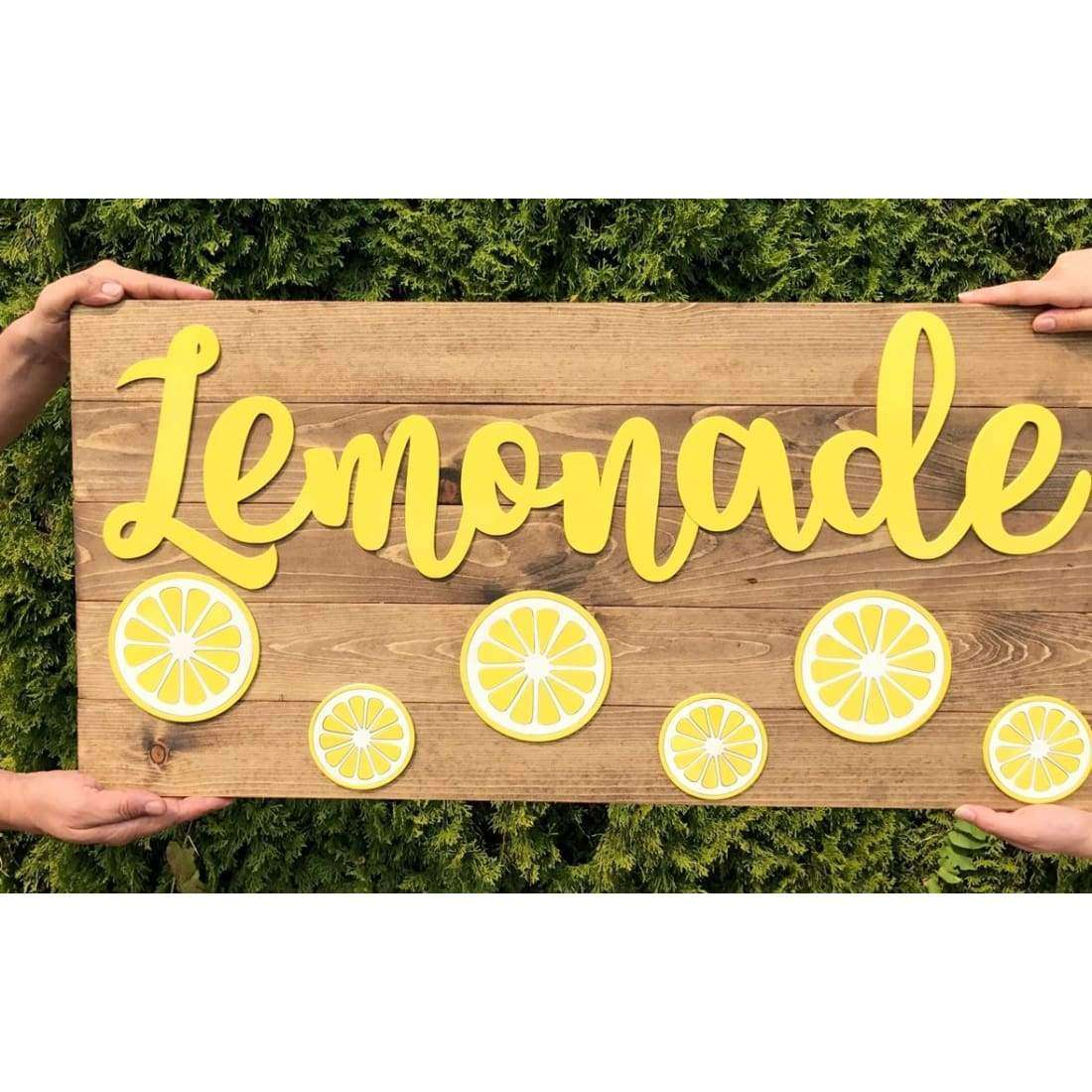 Fire Pigs Designs - Large Lemonade sign Free Shipping!