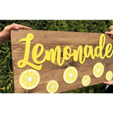 Large Lemonade sign Free Shipping!