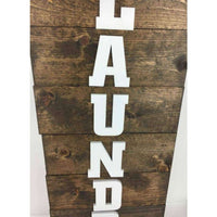 Laundry Room Sign Horizontal Custom Made