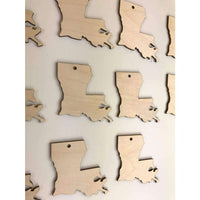 Louisiana State cutouts