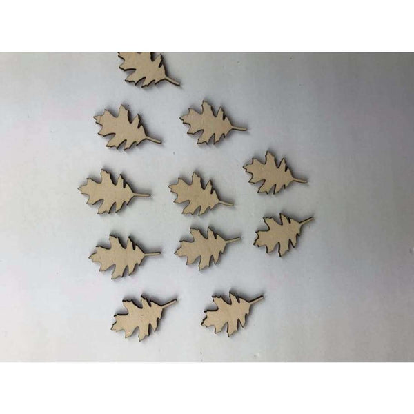 Maple Leave Wooden Cutouts