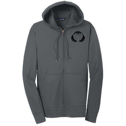 Woodland Co-op Preschool Mens Sport-Tek® Sport-Wick® Fleece Full-Zip Hooded Jacket