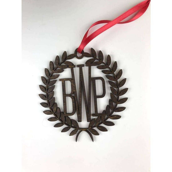 Monogramed Ornament for Boys