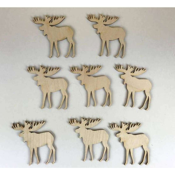 Moose Wooden Cutouts