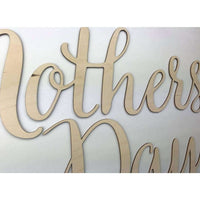 Mothers Day Wooden Cutout Photo Prop
