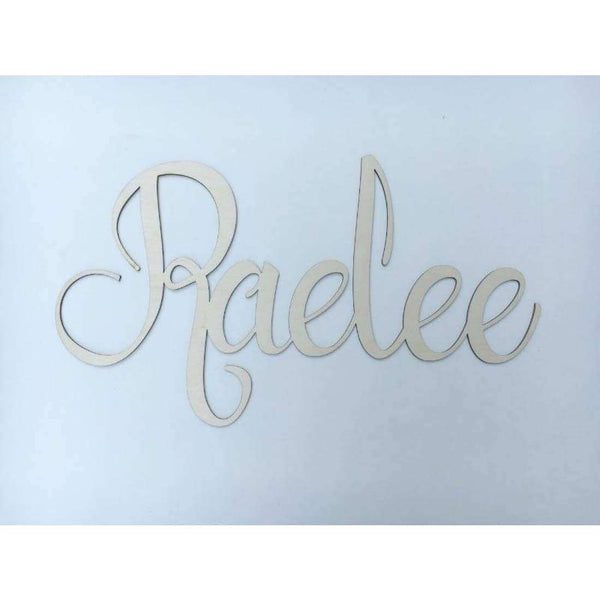 Nursery Name Wooden cutouts