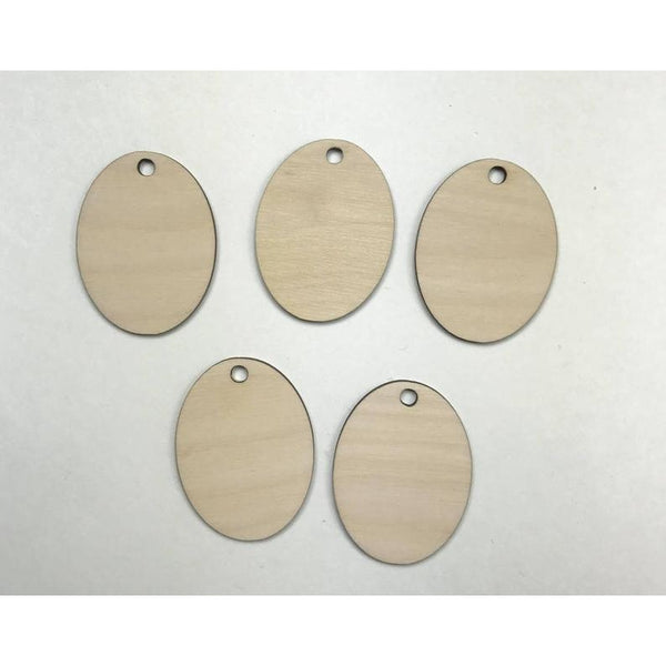 Oval Wooden Cutout Three sizes to choose from