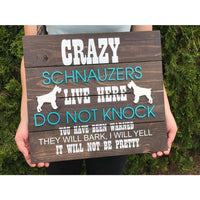 Personalized Beware of Dog Sign