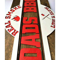 Personalized Rustic Barbeque Sign