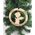 Personlized Angel Ornament