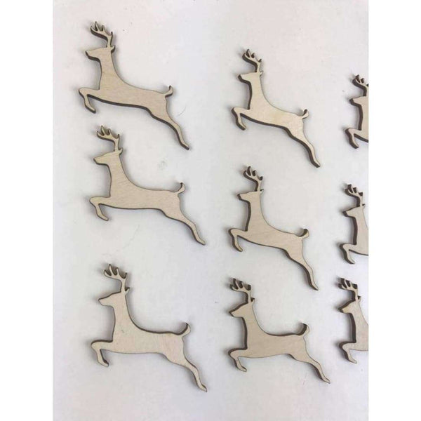 Reindeer Wooden Blanks